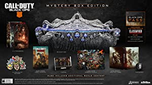 Call of Duty: Black Ops 4 - PS4 Mystery Box Edition (Color: black)