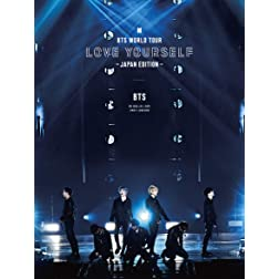 BTS World Tour 'Love Yourself' Japan Edition  Limited incl. 100pg Photobook + 7 Photo Cards [Blu-ray]