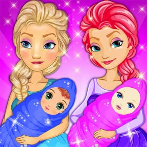Twins Baby Born and Twins Mom by Sponge Games LLC