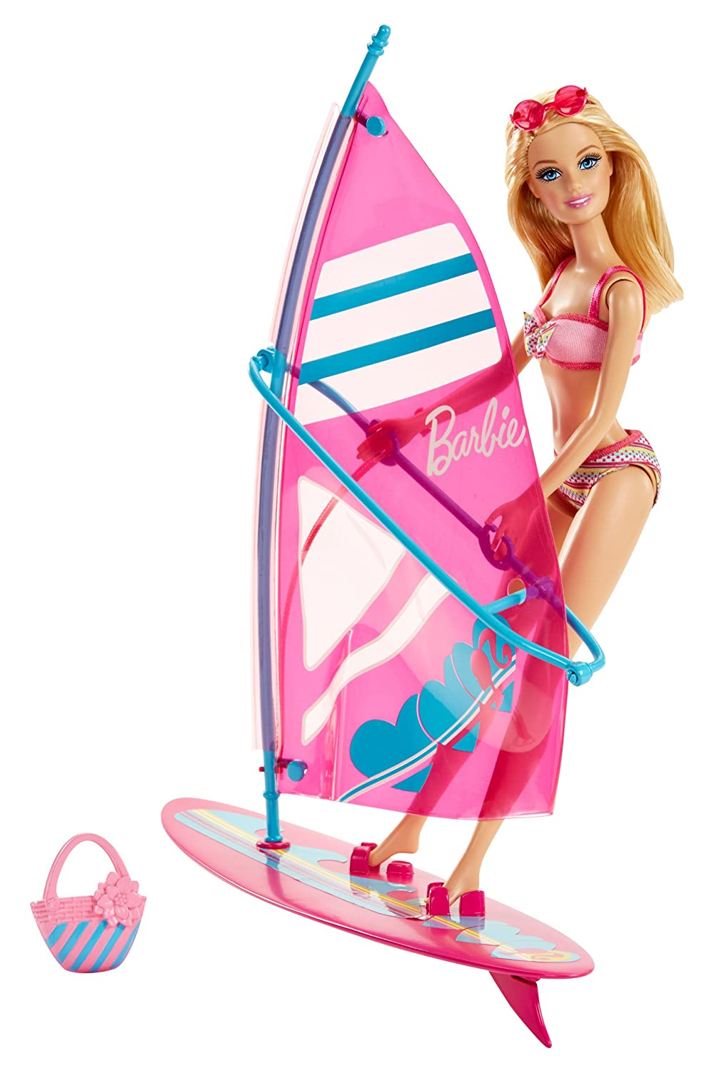 "Barbie – Let""s Go Windsurf! – Barbie Beach Doll mit Surfboard jetzt bestellen"
