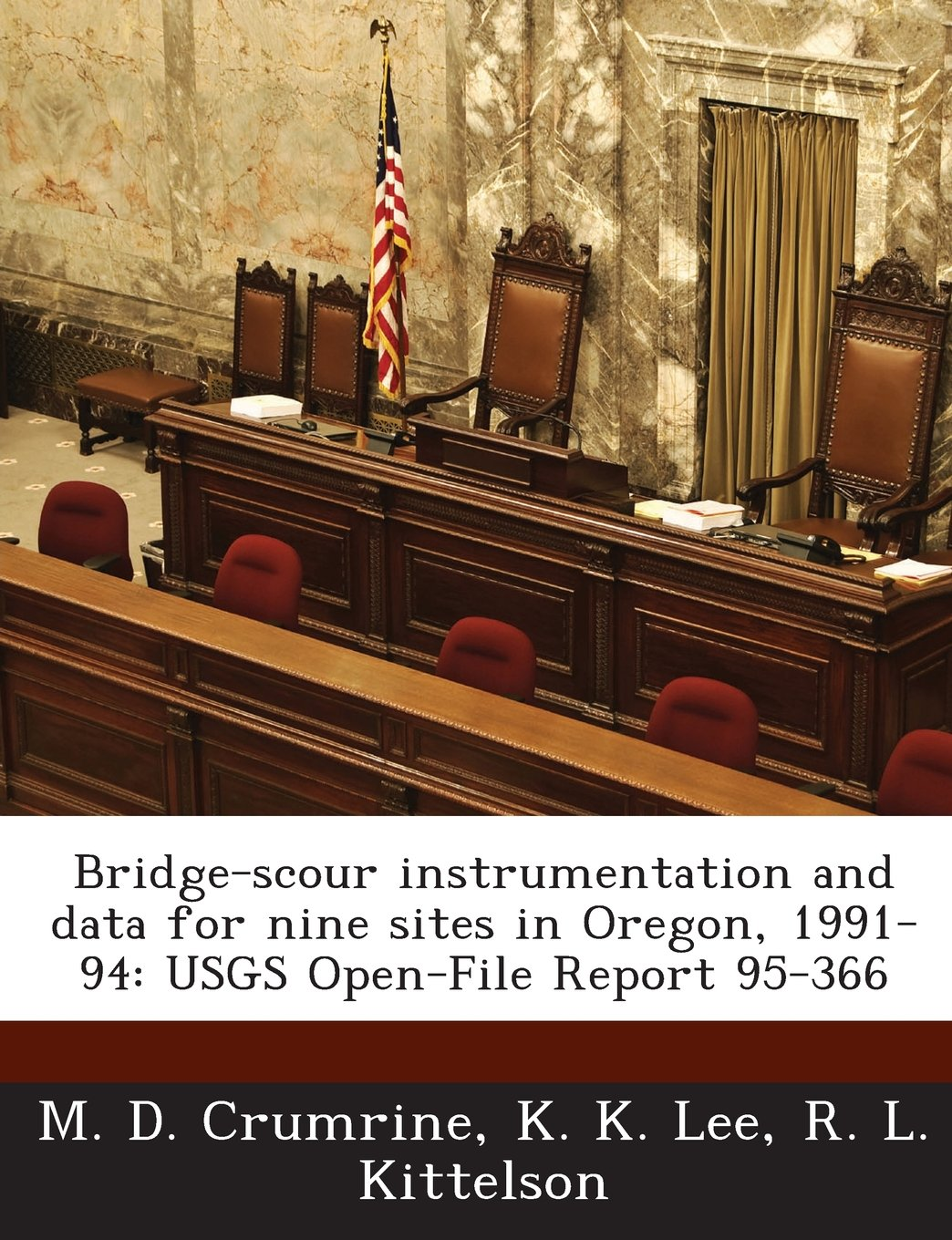 Bridge-scour instrumentation and data for nine sites in Oregon, 1991-94: USGS Open-File Report 95-366 M. D. Crumrine, K. K. Lee and R. L. Kittelson