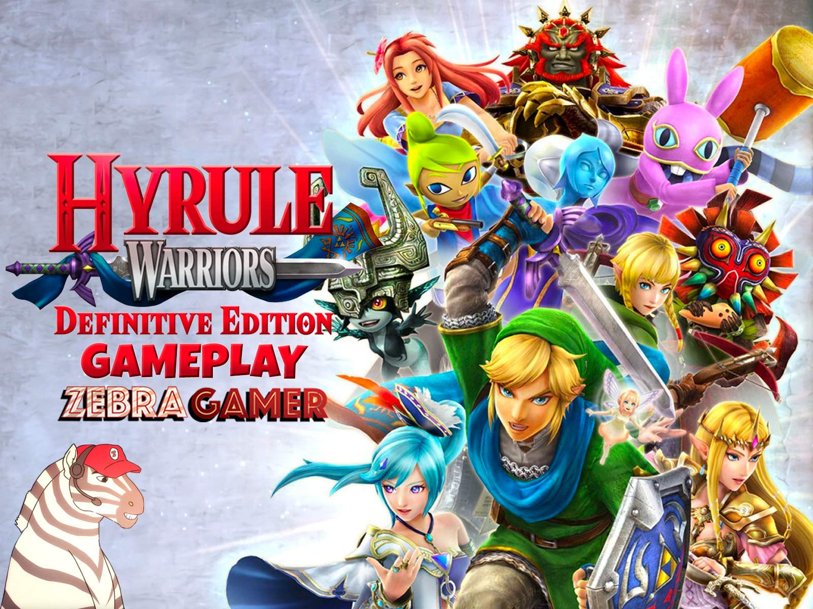 Clip: Hyrule Warriors: Definitive Edition Gameplay - Zebra Gamer - Season 1