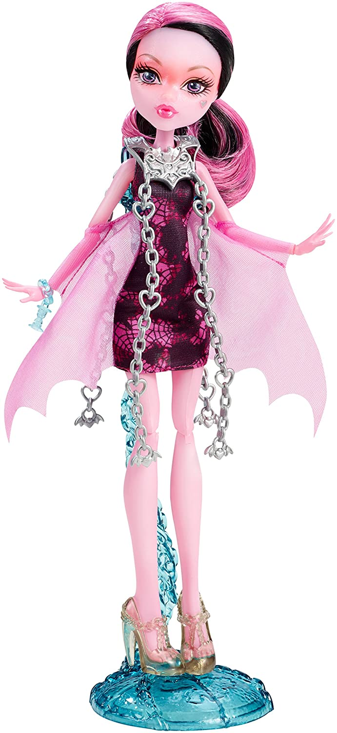 monster high haunted getting ghostly draculaura doll new free shipping. Black Bedroom Furniture Sets. Home Design Ideas