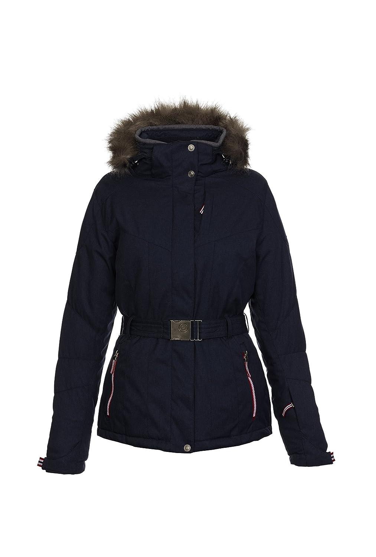 killtec – Damen Funktionsjacke mit Gürtel, Winddicht – Wasserdicht – Atmungsaktiv, H/W 2015, Didosa (27454) kaufen