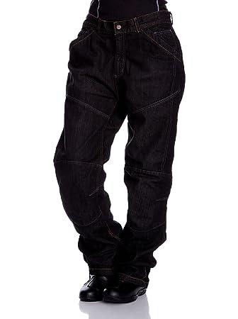 Roleff Racewear 17038 Jean Aramide Pantalon Moto, Noir, Taille : 38