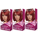 Revlon Colorsilk Luminista Haircolor, Red, 3 Count (Color: Red, Tamaño: 3 Count)