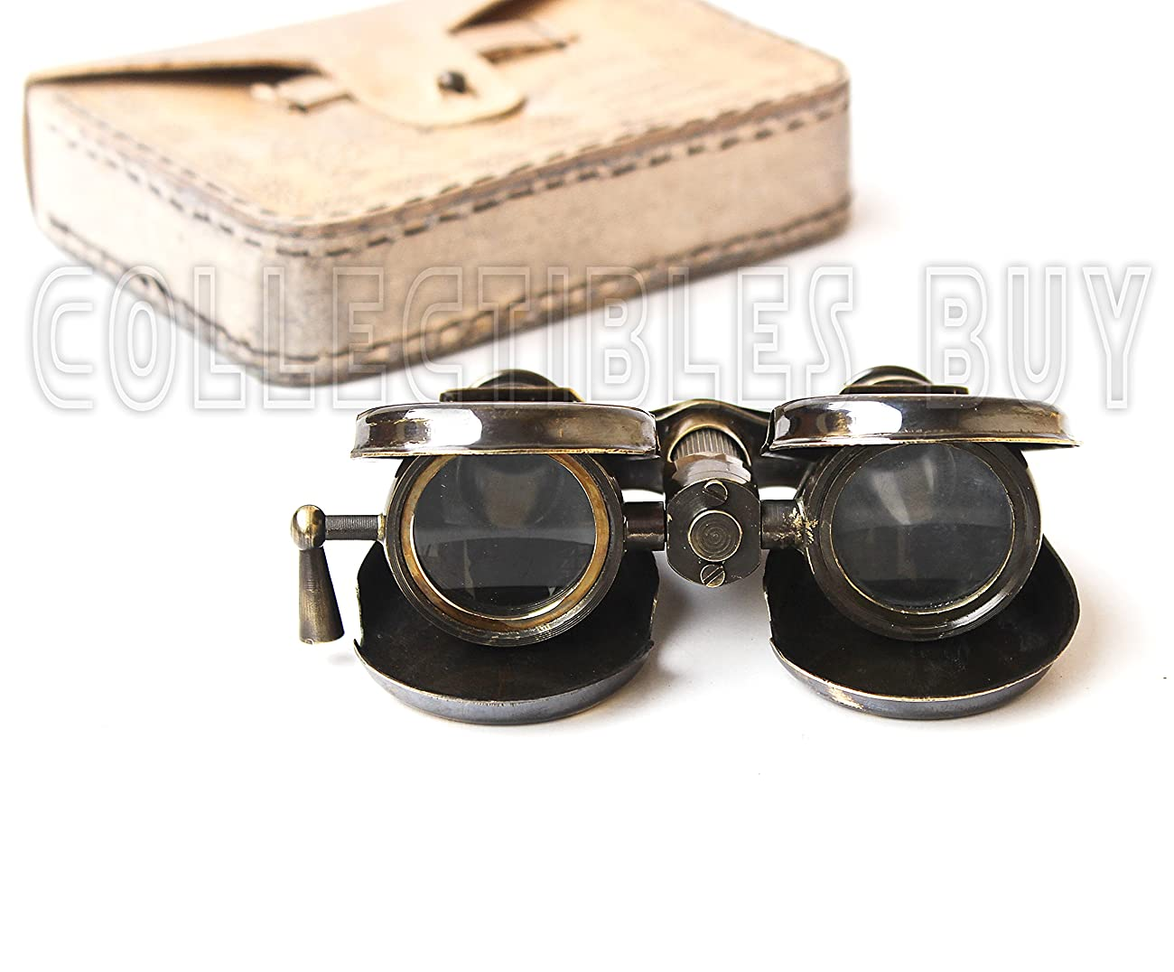 Classic Marine Spy Glass Antique London 1857 R & J Beck Brass Binocular Collectibles Gift 3
