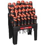 60179 26Piece Screwdriver Set with Storage Rack