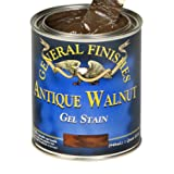 General Finishes AG Oil Base Gel Stain, 1 Gallon, Antique Walnut (Color: Antique Walnut, Tamaño: 1 Gallon)