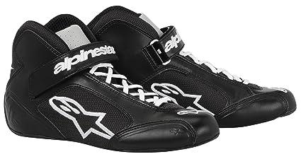 ALPINESTARS 2712013-12 Chaussures Kart, Noir/Blanc, Taille : 6
