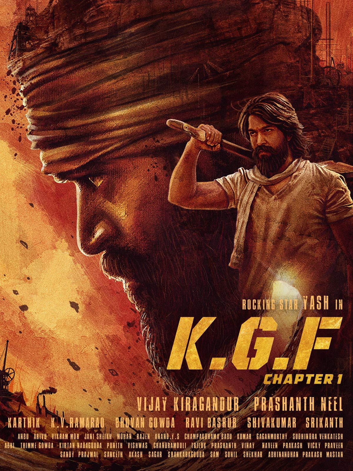 K.G.F: Chapter 1 (Hindi) on Amazon Prime Instant Video UK