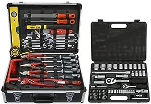 Famex 74449 Universal Werkzeugkoffer mit Steckschlüsselsatz  BaumarktKundenbewertung und weitere Informationen