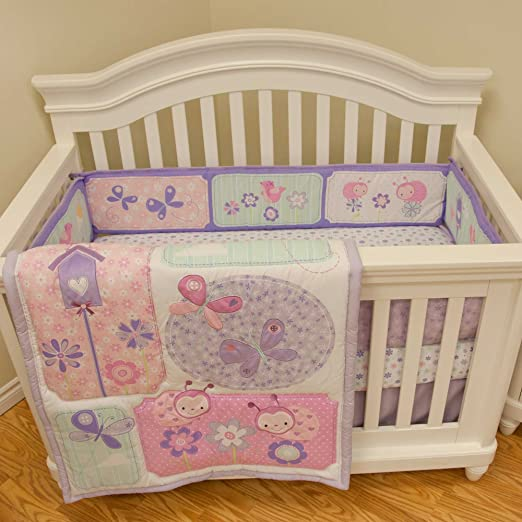 Babys First Once Upon a Garden Crib Bedding