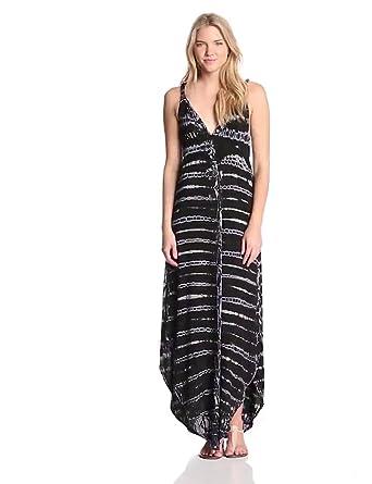 Gypsy 05 Women's PGL Maxi Dress, Black/Blue, X-Small