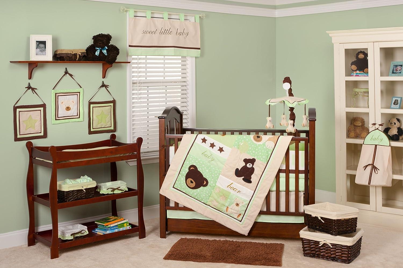 Pam Grace Creations Baby Bear Crib Bedding