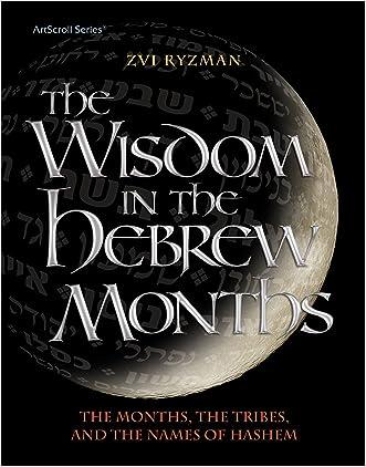 Wisdom in the Hebrew Months (Artscroll) written by Zvi Ryzman