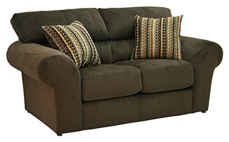 Mesa Loveseat Chocolate