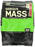 Optimum Nutrition Serious Mass Drink, Strawberry, 12 Pound