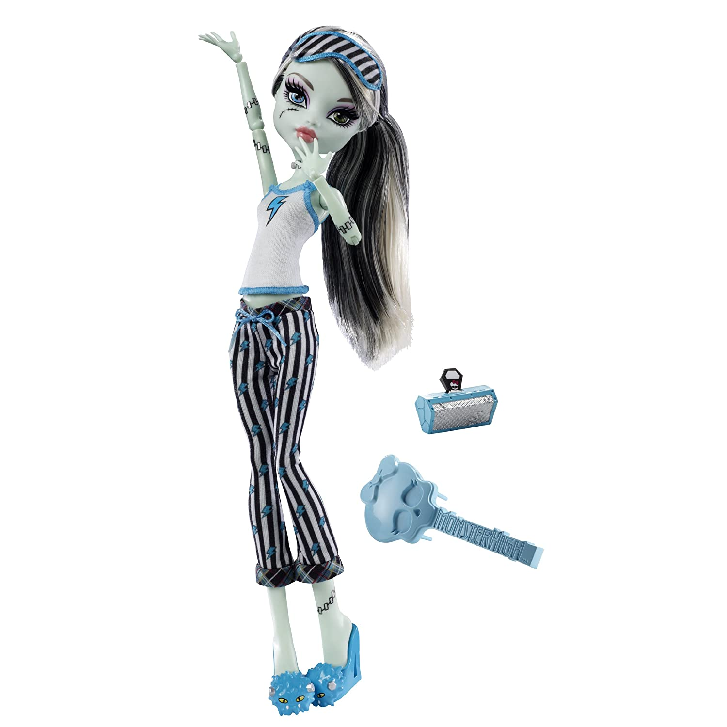 Monster High Dead Tired Lagoona Blue Doll And Hydration Station Playset Monster High Lagoona Blue Dead