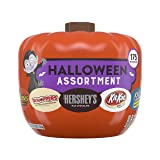 HERSHEY'S Snack Size Halloween Chocolate Candy Assortment in Pumpkin Bowl, 175 Pieces, 41.2 Ounces (Tamaño: 41.2 Ounce)