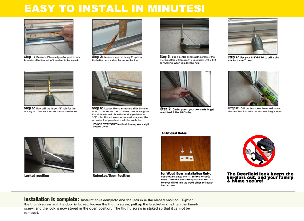 Easy Install Instructions