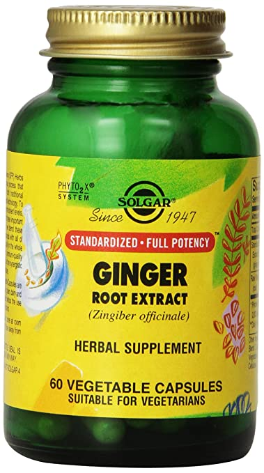 Отзывы Solgar SFP Ginger Root Extract Vegetable Capsules