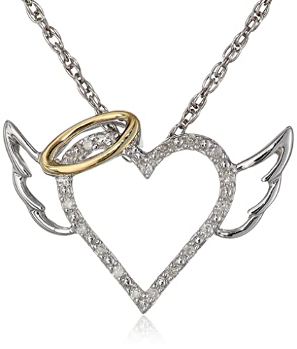 XPY-Sterling-Silver-and-14k-Yellow-Gold-Diamond-Winged-Halo-Heart-Pendant-Necklace-18-