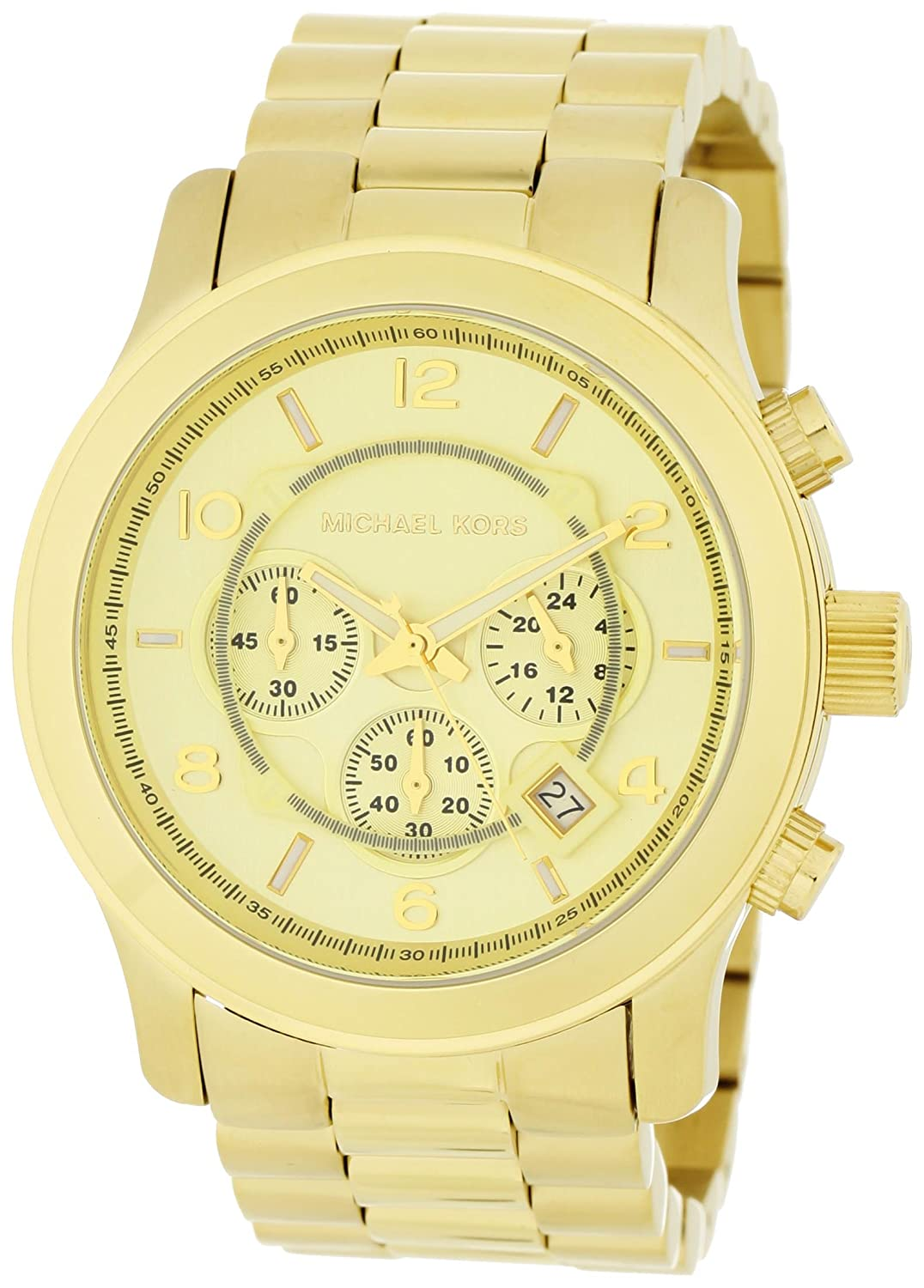 best watches michael kors mk8077 gold tone s
