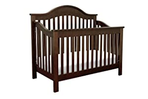 DaVinci Jayden 4 in 1 Crib with Toddler Rail, Espresso