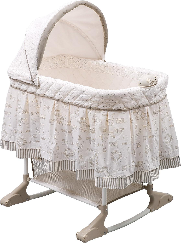 Top ten best baby bassinets reviews 2016 2017 on flipboard for Baby bassinet