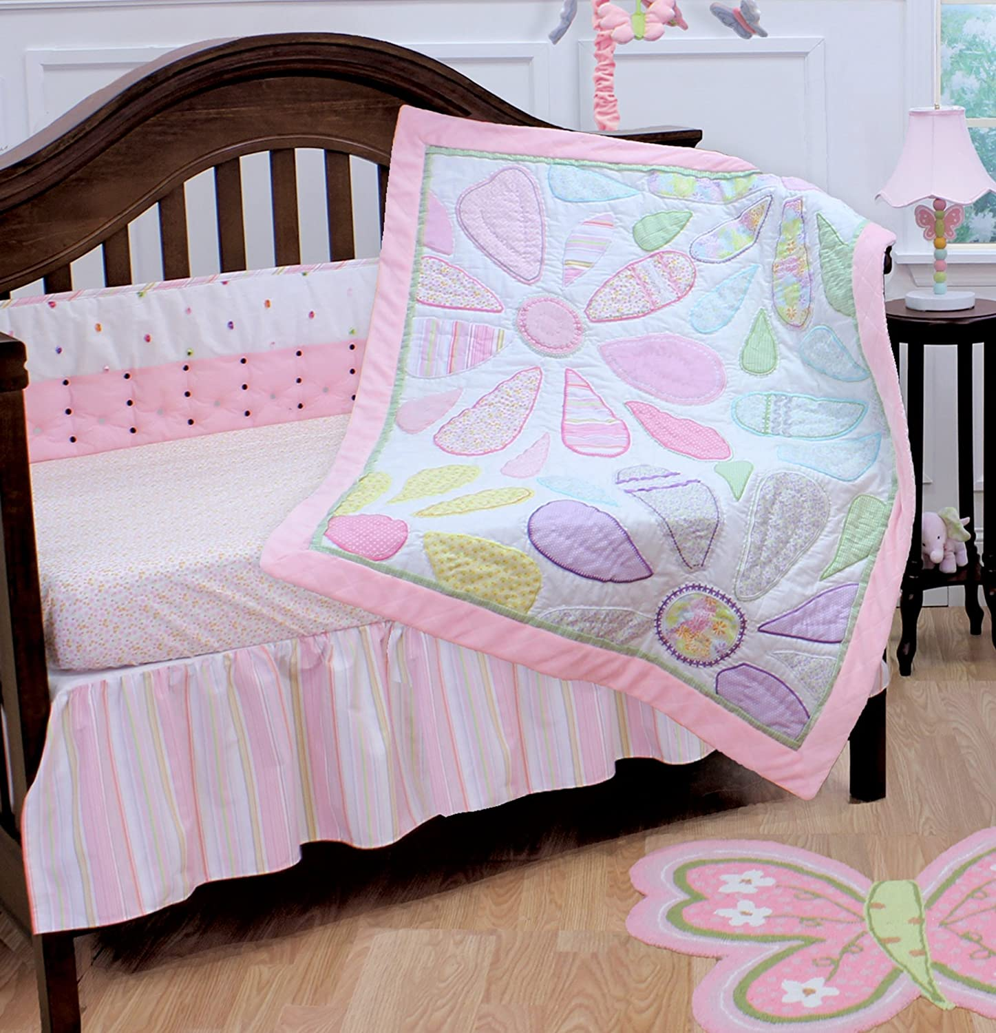 Nurture Imagination Crazy Daisy Baby Bedding