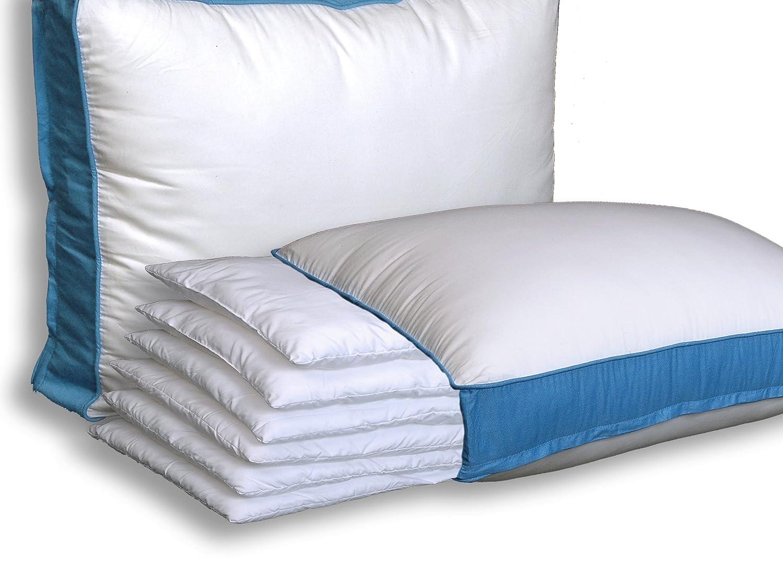 the pancake pillow adjustable layer pillow