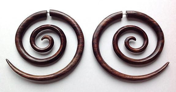 Primal Distro XXL Spiral Fake Gauge Earrings at Sears.com