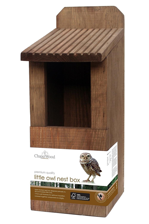 Owl Nesting Box Chapelwood Little Owl Nest Box