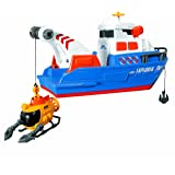 Dickie Toys Light and Sound Explorer Boat