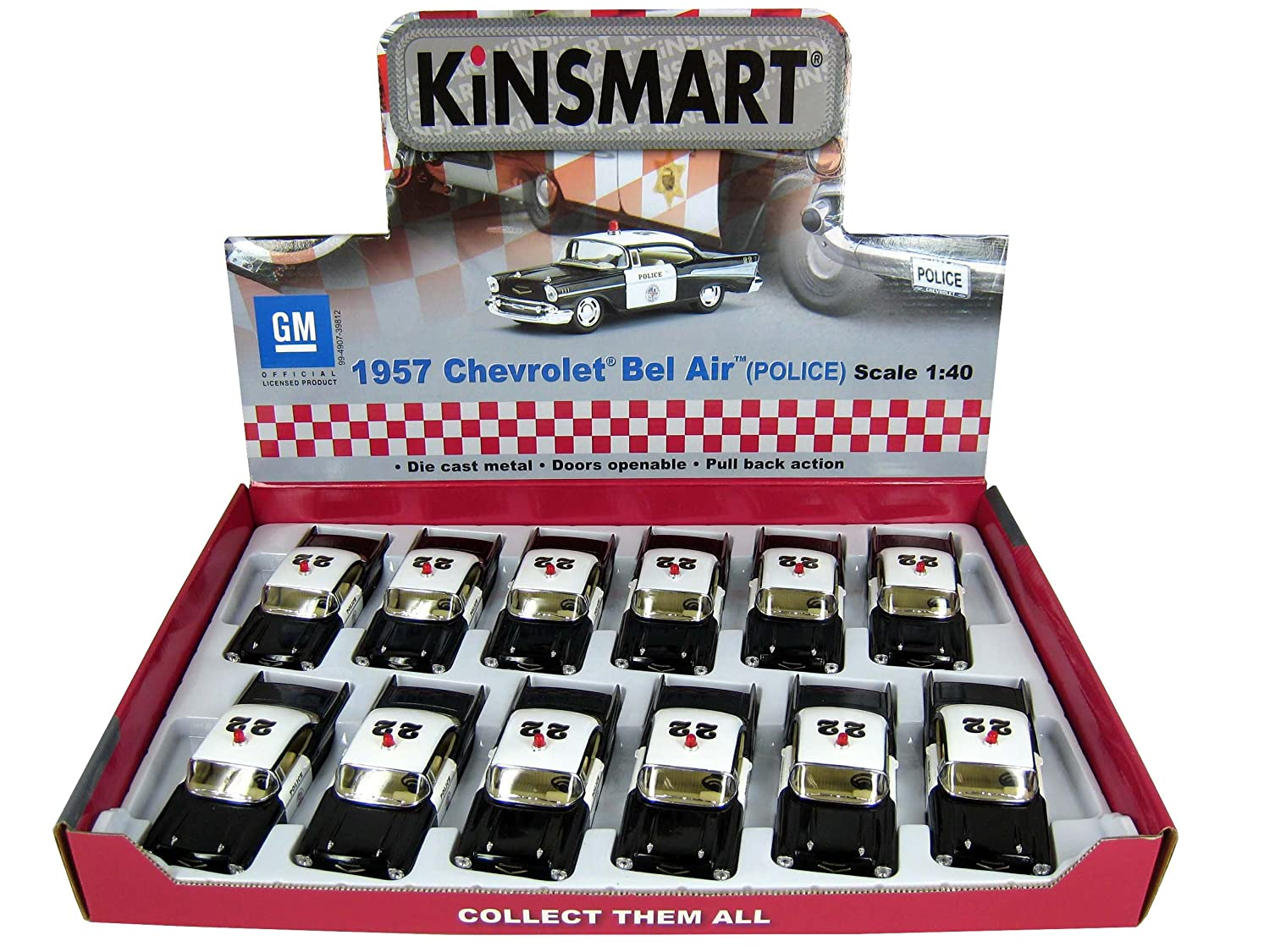 Buy Kinsmart 2015 Ford Mustang Gt (police) Diecast Car With Openable Doors  & Pull Back Action Online At Low Prices In India  Amazon