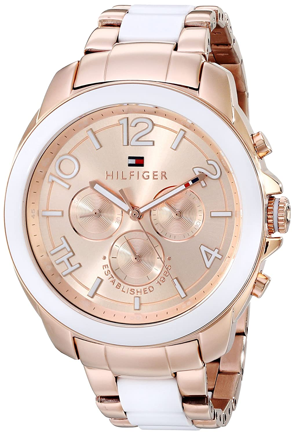 women 39 s watches tommy hilfiger women 39 s 1781393 rose gold. Black Bedroom Furniture Sets. Home Design Ideas