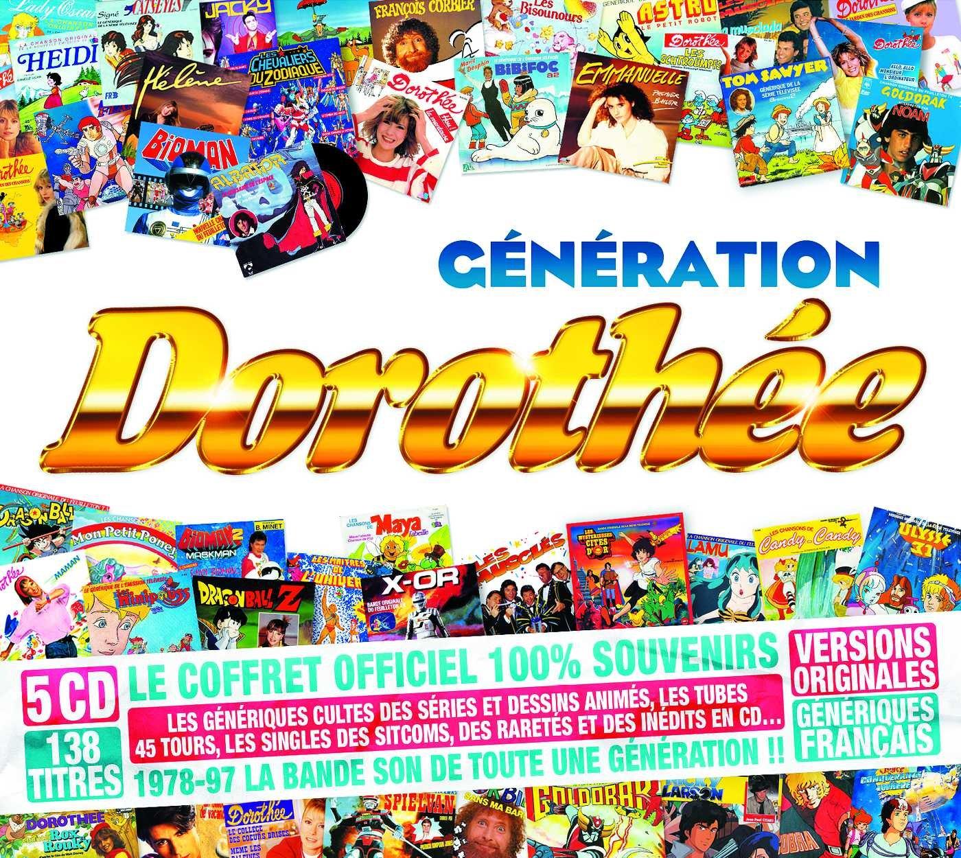 Coffret CD génération Dorothée