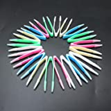 IDS Contact Lens Tweezers, Make Up Tool Multi Colors, 60mm, Assorted Color, 20 Pcs