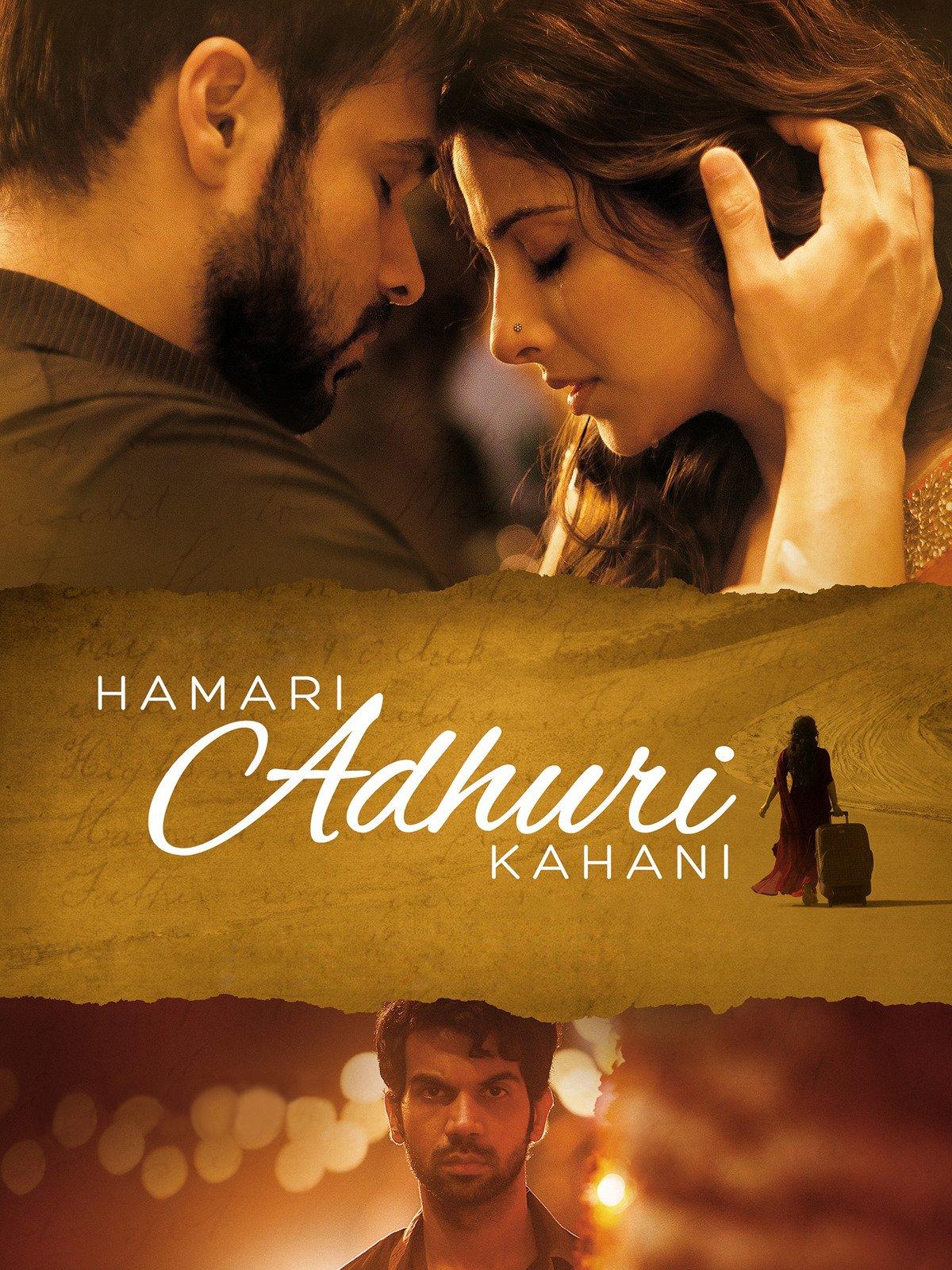 Hamari Adhuri Kahaani on Amazon Prime Instant Video UK