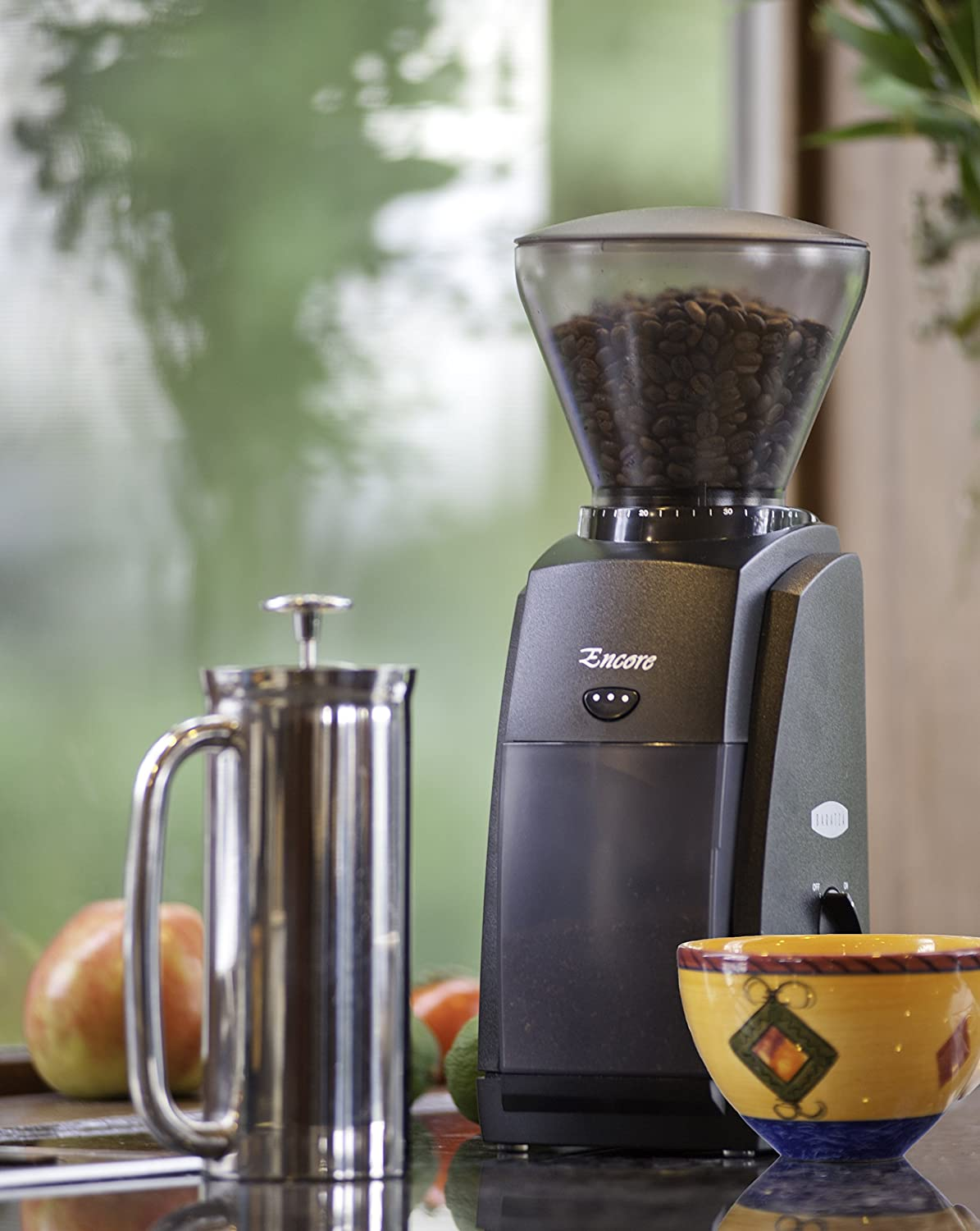 The Baratza Encore is a conical burr grinder and performs brilliantly.