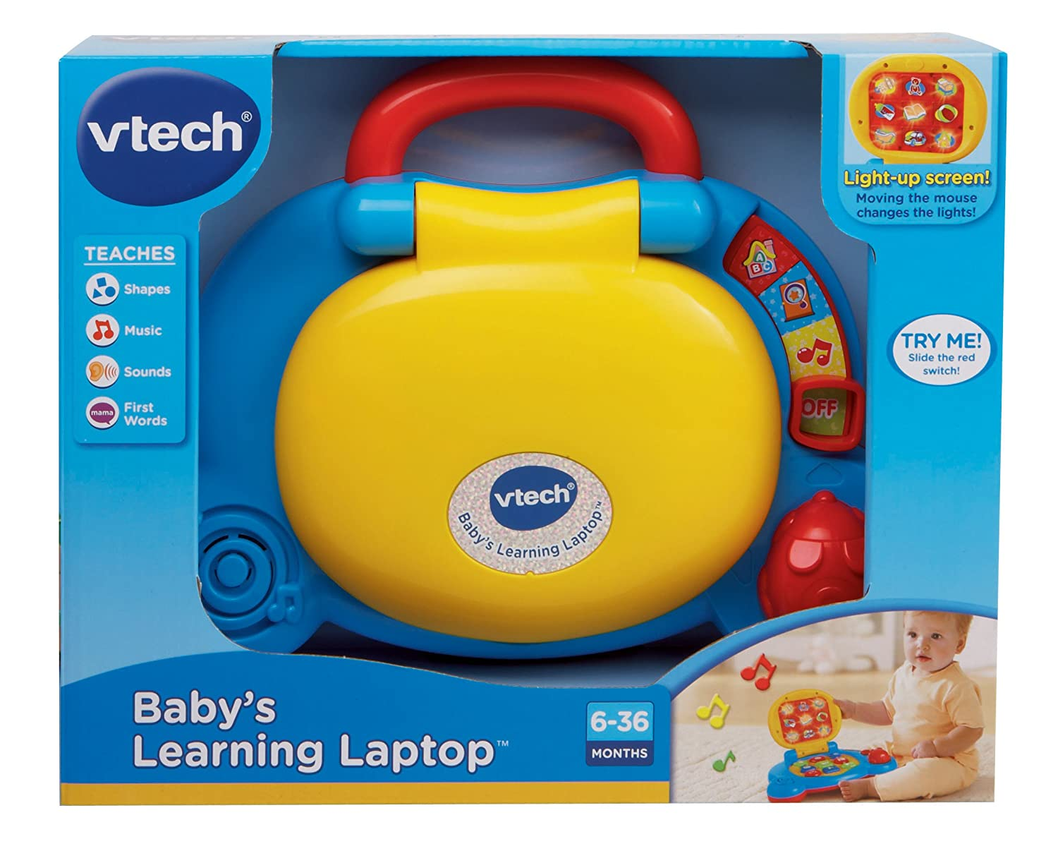Baby Blue Laptops Baby's Learning Laptop