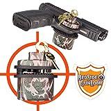 BedSide GunLock Gun Safe Storage Trigger Lock for Guns Pistol Rifles Handguns & Shotguns - Quick Access Mount Accessories for Home Security or Display - Secure Alternative to Safes, Vault and Case (Color: CAMO, Tamaño: 1 unit)
