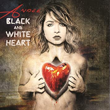 Andee � Black and white Heart