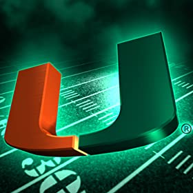 Miami Hurricanes Revolving Wallpaper