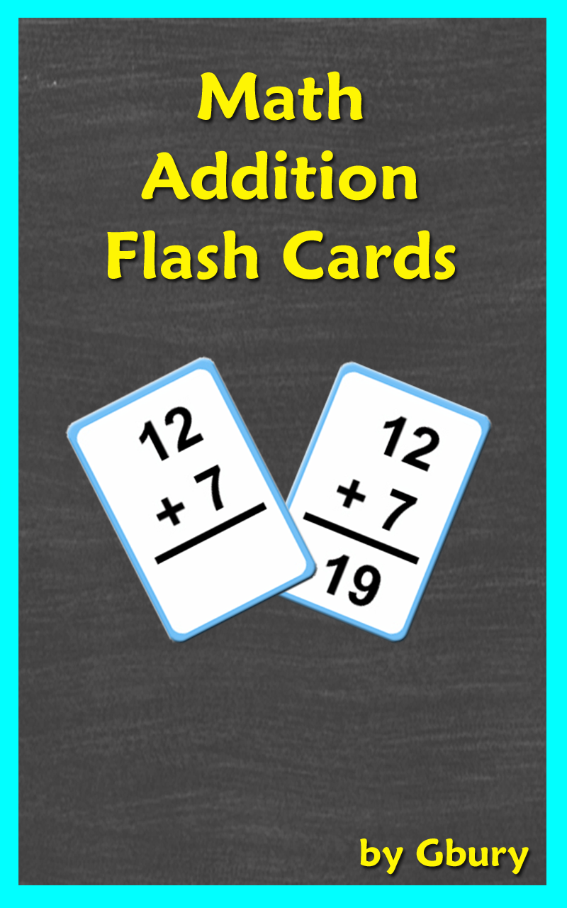 math addition flash cards appstore for android. Black Bedroom Furniture Sets. Home Design Ideas