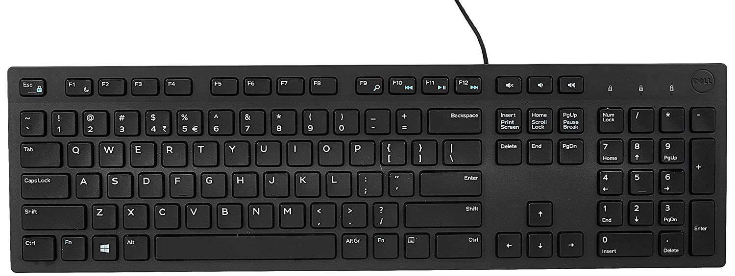 Deals on DELL KB216 Wired Multimedia USB Keyboard