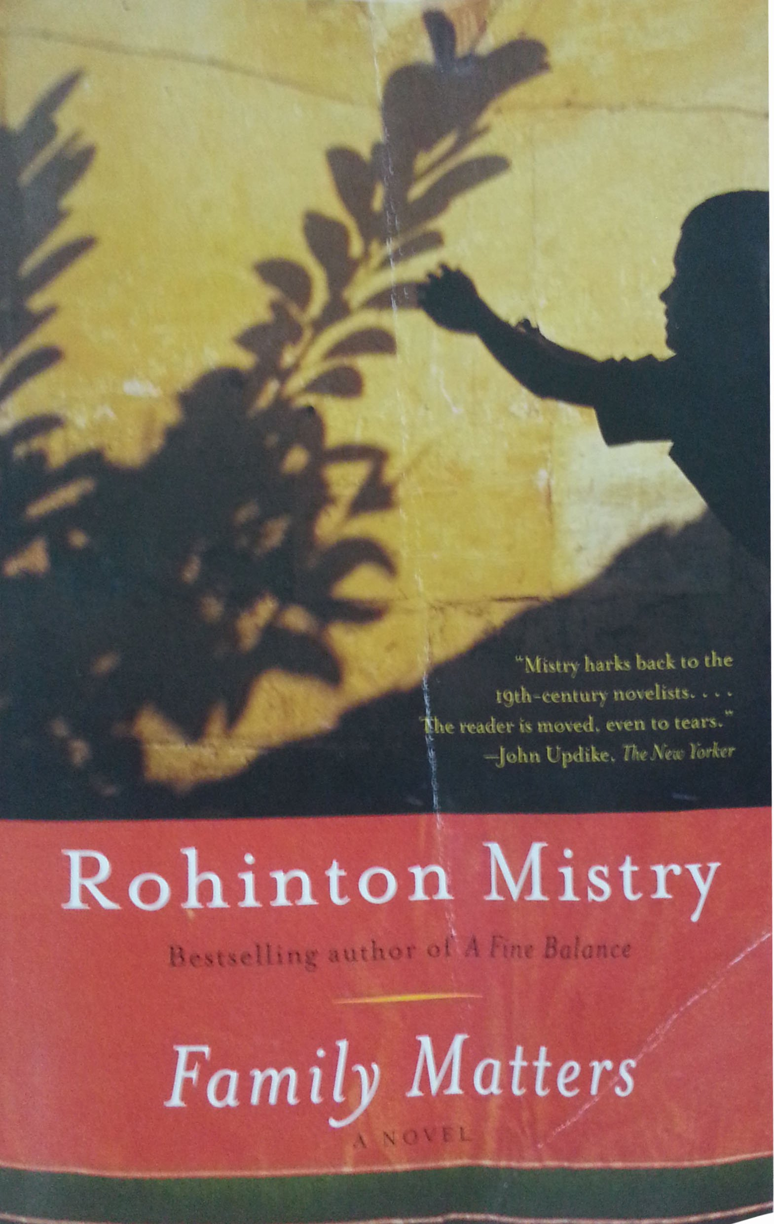 a discussion of the main themes in family matters by rohinton mistry The sitcoms and dramas such as full house and family matters are a crazy life spent with my unique family 1 page a discussion of the main themes in family.
