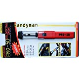 Portasol 010368100 P-50 Butane Powered Soldering Iron (Color: Red/Black, Tamaño: 11-inch)
