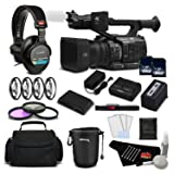 Panasonic AG-UX90 4K/HD Professional Camcorder Deluxe Bundle -International Version (Color: Deluxe, Tamaño: No warranty)